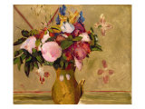 Flowers, after Cezanne Giclee Print by Odilon Redon