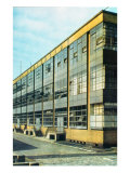 The Fagus Shoe Factory, designed by Walter Gropius Giclee Print