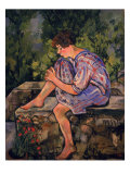 Seated Young Woman, 1930 Giclee Print by Marie Clementine Valadon