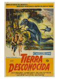 The Land Unknown, Argentine Movie Poster, 1957 Reprodukce