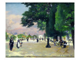 The Tuileries Giclee Print by Jules Ernest Renoux