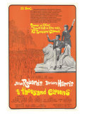 A Thousand Clowns, 1966 Giclee Print
