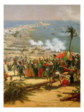 The Battle of Aboukir, 25th July 1799 Giclee Print by Louis Lejeune