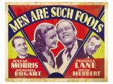 Men Are Such Fools, 1938 Posters
