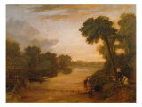 The Thames near Windsor, c.1807 Giclee Print by Joseph Mallord William Turner