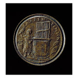 Roman Coin Depicting an Organ Giclee Print