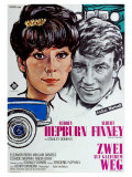 Two for the Road, German Movie Poster, 1967 Prints
