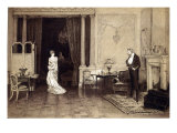 The First Cloud, from &#39;Leisure Hour&#39;, 1888 Giclee Print by Sir William Quiller Orchardson