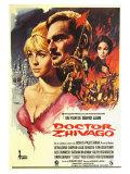 Doctor Zhivago, Spanish Movie Poster, 1965 Digitálně vytištěná reprodukce