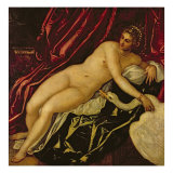 Leda and the Swan, c.1545-47 Giclee Print by Jacopo Robusti Tintoretto