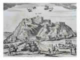 View of Lhasa, Capital of Tibet, from 'China Monumentis', Printed in Amsterdam in 1667 Giclee Print by Atanasio Kirchen