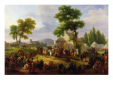 Siege of Paris by Henri IV Giclee Print by Guillaume Frederic Ronmy