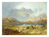 Langdale Pikes, from 'The English Lake District', 1853 Giclee Print by James Baker Pyne