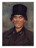 An Old Man of Axel, 1904 Giclee Print by Nico Jungman