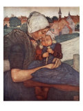 A Mother and Child of Axel, 1904 Giclee Print by Nico Jungman