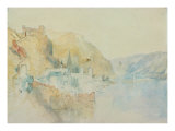 On The Rhine Giclee Print by Joseph Mallord William Turner