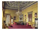 The Lyons Hall in Catherine Palace in Tsarskoye Selo, 1859 Giclee Print by Luigi Premazzi