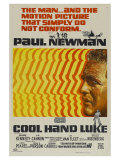 Cool Hand Luke, Australian Movie Poster, 1967 Giclee Print