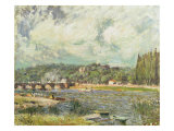The Bridge at Sevres, c.1877 Giclee Print by Alfred Sisley