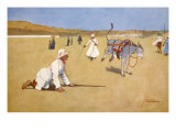 On the Dam Road, Assouan, from 'The Light Side of Egypt', 1908 Giclee Print by Lance Thackeray