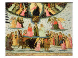 Triumph of Eternity, Inspired by 'Triumphs' by Petrarch Giclee Print by Jacopo Del Sellaio