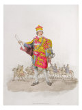 Herald, from 'Costume of Great Britain', published by William Miller, 1805 Giclee Print by William Henry Pyne