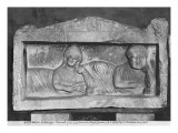 Funerary Relief of a Couple, from Palmyra, Syria Giclee Print