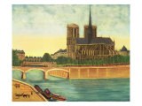 Notre-Dame Giclee Print by Louis Vivin