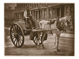 The Water Cart, from 'Street Life in London', 1877-78 Giclee Print by John Thomson