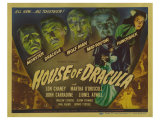 House of Dracula, 1945 Poster