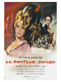 Doctor Zhivago, French Movie Poster, 1965 Print