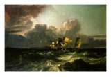 Ships Bearing up for Anchorage Giclee Print by Joseph Mallord William Turner