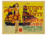 Mutiny on the Bounty, 1935 Print