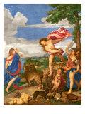 Bacchus and Ariadne, 1520-23 Giclee Print by  Titian (Tiziano Vecelli)