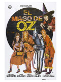 The Wizard of Oz, Spanish Movie Poster, 1939 Poster