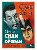 Charlie Chan at the Opera, Swedish Movie Poster, 1936 Prints