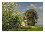 Spring Blossom, 1908 Giclee Print by Christian Zacho
