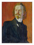Portrait of Konstantin Balmont, 1909 Giclee Print by Nikolai Pavlovich Ulyanov