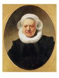 Portrait of Aechje Claesdar, 1634 Giclee Print by  Rembrandt van Rijn