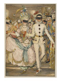Bal Masque, 1918 Giclee Print by Konstantin Andreevic Somov
