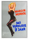 The Seven Year Itch, German Movie Poster, 1955 Poster