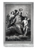 Apotheosis of Handel, 1787 Giclee Print by Biagio Rebecca
