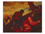 Christ Sinking under the Weight of the Cross Giclée-Druck von Paolo Veronese