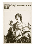 The Lady Layonnesse, Illustration from 'The Story of Sir Launcelot and His Companions', 1907 Giclee Print by Howard Pyle