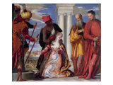 The Martyrdom of St. Justine, c.1555 Giclee Print by Paolo Veronese
