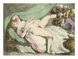The Prostitute Observed, 1808-17 Giclee Print by Thomas Rowlandson