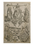 The Last Judgement, Illustration from the &#39;Liber Chronicarum&#39; by Hartmann Schedel Giclee Print by Michael Wolgemuth