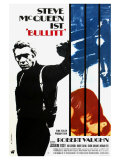Bullitt, German Movie Poster, 1968 Giclee Print