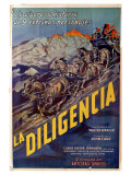 Stagecoach, Argentine Movie Poster, 1939 Giclee Print
