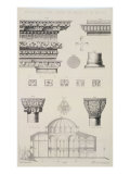 Church of Sergius and Bacchus, from 'Church Architecture of Constantinople' Giclee Print by D. Pulgher